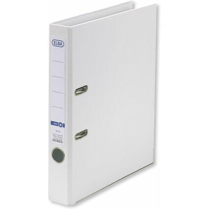 ELBA Ordner rado smart Pro+, Rückenbreite: 50 mm, weiß