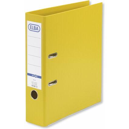 ELBA Ordner rado smart Pro+, Rückenbreite: 80 mm, gelb