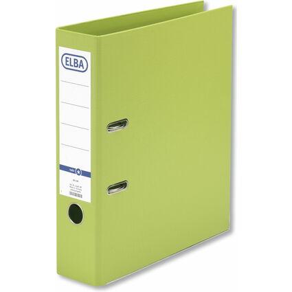 ELBA Ordner rado smart Pro+, Rückenbreite: 80 mm, hellgrün