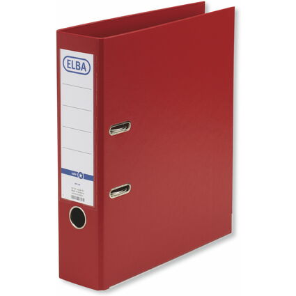 ELBA Ordner rado smart Pro+, Rückenbreite: 80 mm, rot