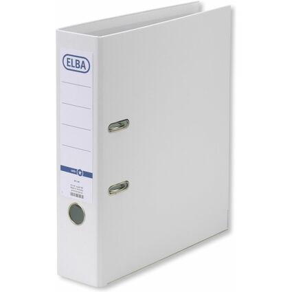 ELBA Ordner rado smart Pro+, Rückenbreite: 80 mm, weiß