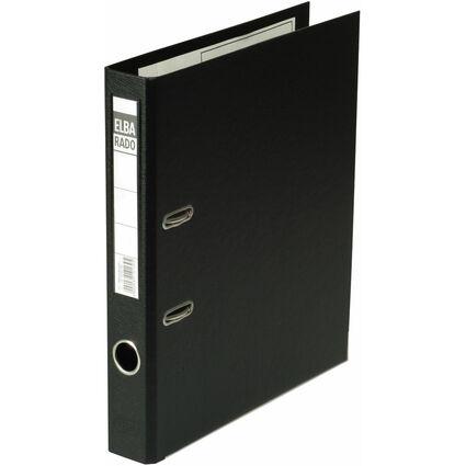 ELBA Ordner rado plast, Rückenbreite: 50 mm, schwarz
