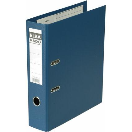 ELBA Ordner rado plast, Rückenbreite: 80 mm, blau