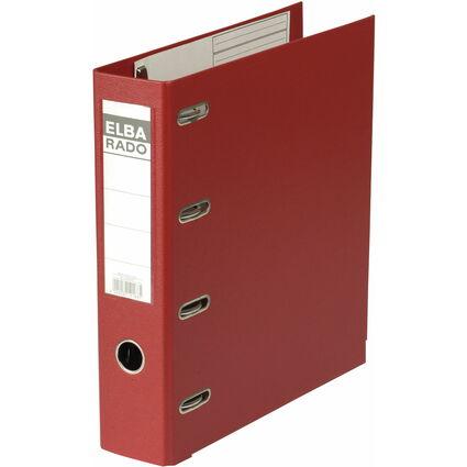 ELBA Doppelordner rado plast, Rückenbreite: 75 mm, rot