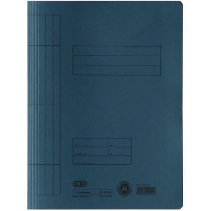 ELBA Schnellhefter DIN A4 aus Manilakarton (RC), blau