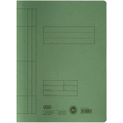 ELBA Schnellhefter DIN A4 aus Manilakarton (RC), grün