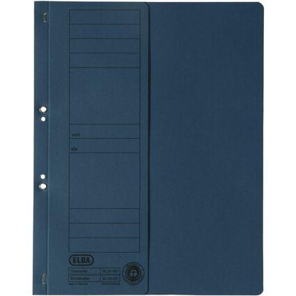 ELBA Ösenhefter aus Karton, blau, Amtsheftung