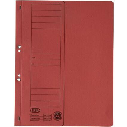 ELBA Ösenhefter aus Karton, rot, Amtsheftung