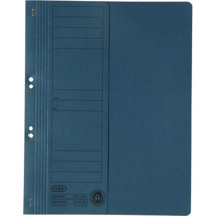 ELBA Ösenhefter aus Karton, blau, kaufmännische Heftung