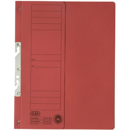 ELBA Einhakhefter aus Karton, rot, Behördenheftung