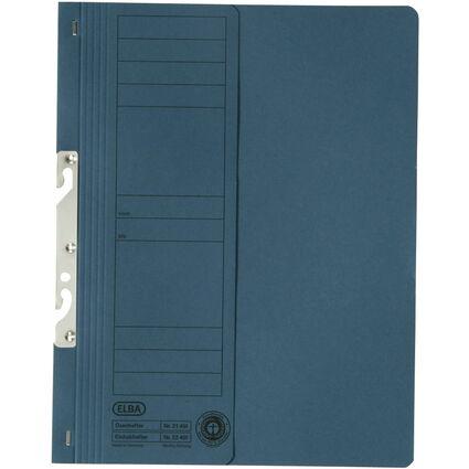 ELBA Einhakhefter aus Karton, blau, kaufmännische Heftung