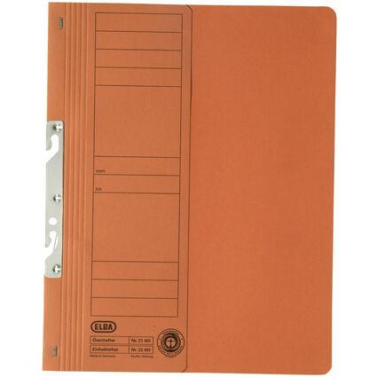 ELBA Einhakhefter aus Karton, orange, kaufmännische Heftung