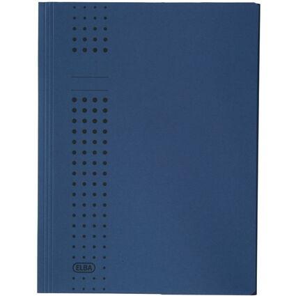 ELBA chic-Sammelmappe aus Karton, A4, dunkelblau