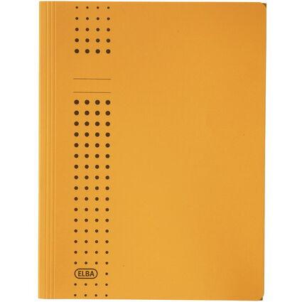 ELBA chic-Sammelmappe aus Karton, A4, gelb