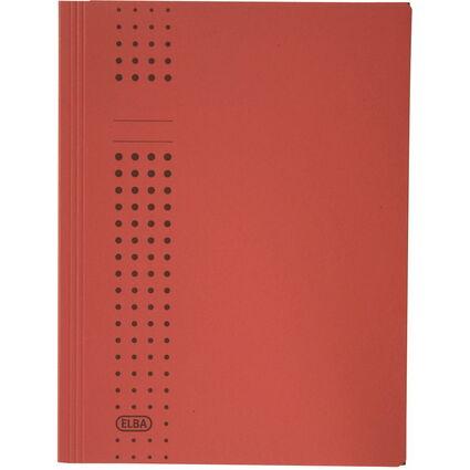 ELBA chic-Sammelmappe aus Karton, A4, rot
