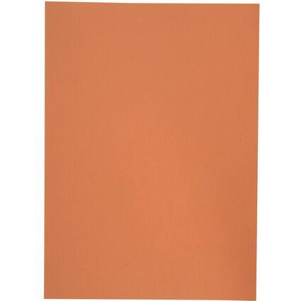 ELBA Aktendeckel, DIN A4, Manilakarton, ohne Druck, orange