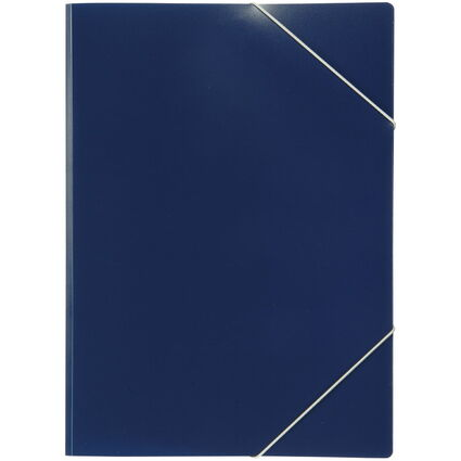 ELBA Eckspanner image, DIN A4, aus PP, dunkelblau