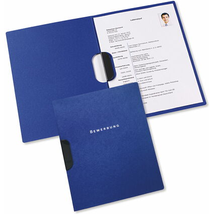 ELBA clip-fix Bewerbungsmappe job-excellent, dunkelblau