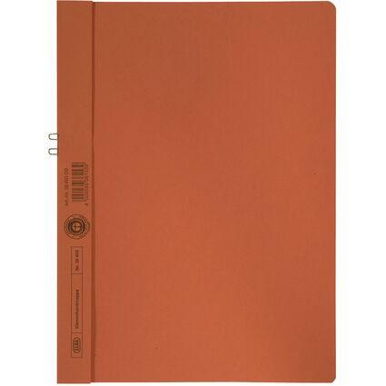 ELBA Klemmhandmappe, DIN A4, ohne Vorderdeckel, orange