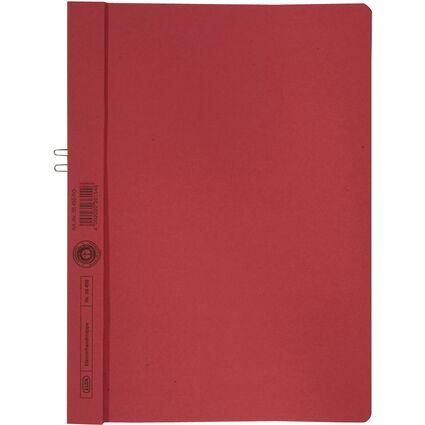 ELBA Klemmhandmappe, DIN A4, ohne Vorderdeckel, rot