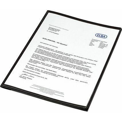 ELBA Angebotsmappe image+, mit A4-Sichttasche, schwarz