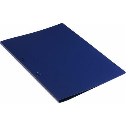 ELBA Schlaufenhefter PP, mit PP-Hefterstiften, dunkelblau