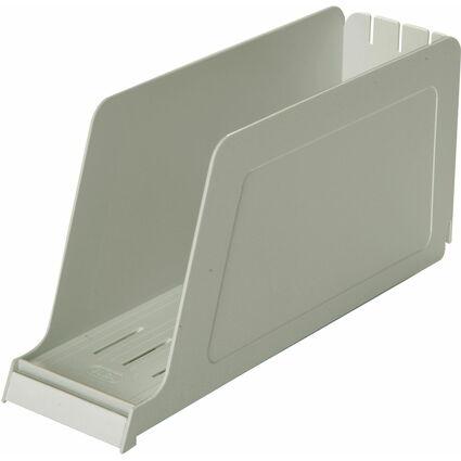 ELBA Stehsammler für Einstellmappen, grau, aus PS