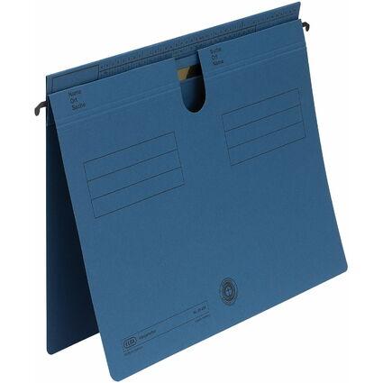 ELBA Hängehefter Sorte 81, überstehende Reiterfalz, blau