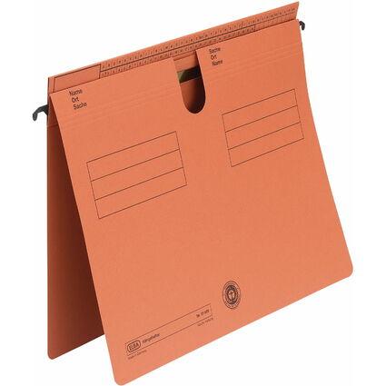 ELBA Hängehefter Sorte 81, überstehende Reiterfalz, orange