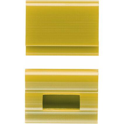 ELBA Farbreiter, aus PVC, zum Aufstecken, gelb