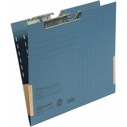 ELBA Pendeltasche, DIN A4, mit Kartonfröschen, blau