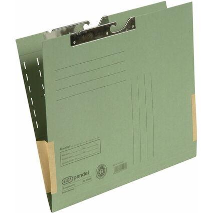 ELBA Pendeltasche, DIN A4, mit Kartonfröschen, grün