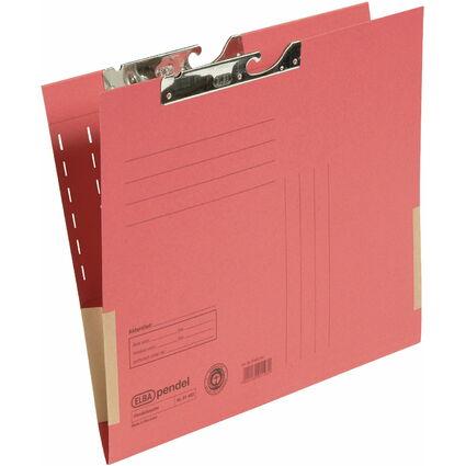 ELBA Pendeltasche, DIN A4, mit Kartonfröschen, rot
