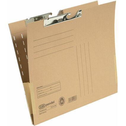 ELBA Pendeltasche, DIN A4, mit Kartonfröschen, Natronkarton