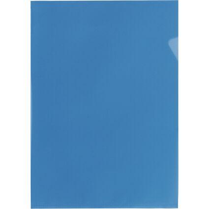 ELBA Sichthülle Standard, DIN A4, PP, 0,12 mm, blau