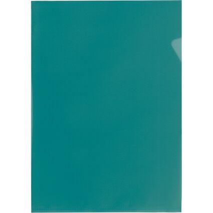 ELBA Sichthülle Standard, DIN A4, PP, 0,12 mm, grün
