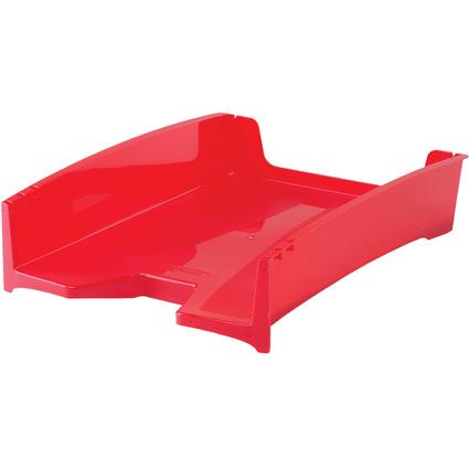 Fellowes Schreibtisch-Set Green2Desk, 7-teilig, rot
