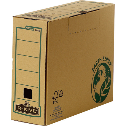 Fellowes BANKERS BOX EARTH Archiv-Schachtel, (B)100 mm