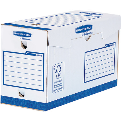 Fellowes BANKERS BOX Basic Archiv-Schachtel Heavy Duty A4+