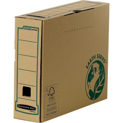 Fellowes BANKERS BOX EARTH Archiv-Schachtel, braun, (B)80 mm