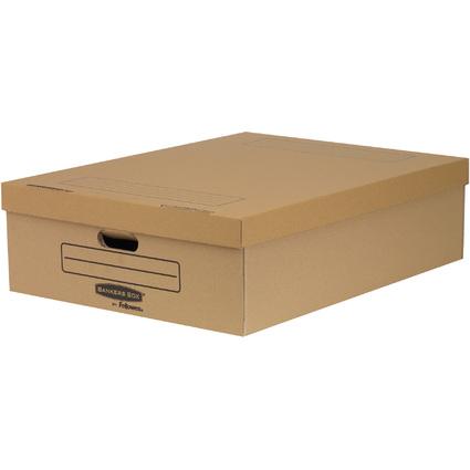 Fellowes BANKERS BOX STYLE Unterbett-Box, groß, braun