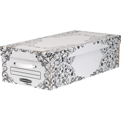 Fellowes BANKERS BOX STYLE Unterbett-Box Premium, klein