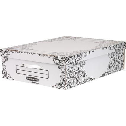 Fellowes BANKERS BOX STYLE Unterbett-Box Premium, groß