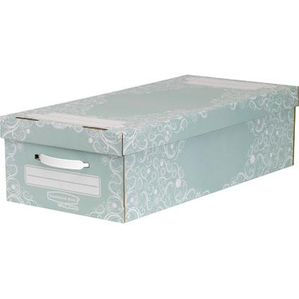 Fellowes BANKERS BOX STYLE Unterbett-Box Premium, groß, grün