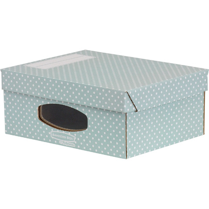 Fellowes BANKERS BOX STYLE Archiv-Aufbewahrungsbox,grün/weiß