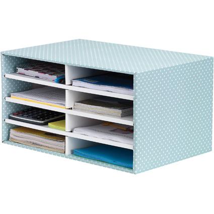 Fellowes BANKERS BOX STYLE Schreibtisch-Manager, grün/weiß