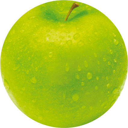 Fellowes Maus Pad BRITE, Motiv: Apfel, rund