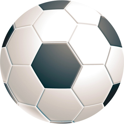 Fellowes Maus Pad BRITE, Motiv: Fußball, rund