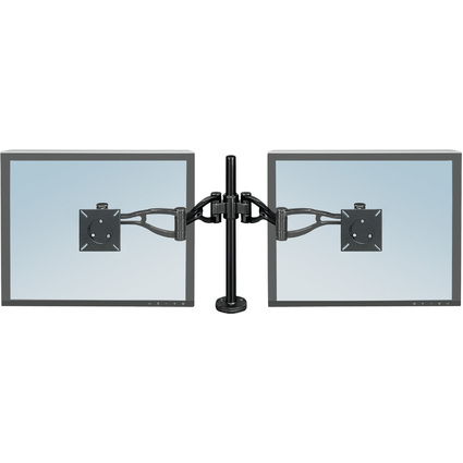 Fellowes TFT/LCD-Monitorarm Doppel Professional, schwarz