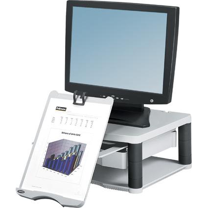 Fellowes Monitorständer Premium Plus, platin